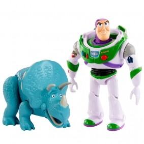 Bonecos Articulados Toy Story - Buzz Lightyear e Trixie | Mattel/Disney Pixar
