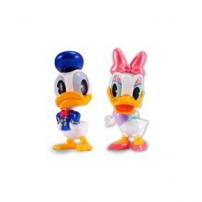 "Bonecos MetalFigs 2,5"" - Donald e Daisy Duck 