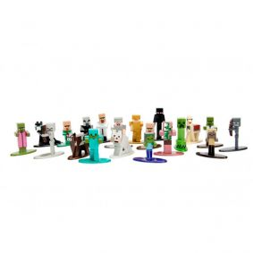 "Bonecos Nano MetalFigs 1,65"" - 20-Pack Minecraft 