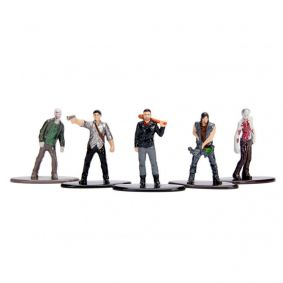 "Bonecos Nano MetalFigs 1,65"" - 5-Pack B The Walking Dead 