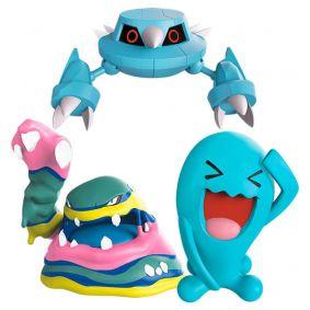 "Bonecos Pokémon Battle Figure 3"" - Metang, Muk de Alola e Wobbuffet | WCT/DTC"