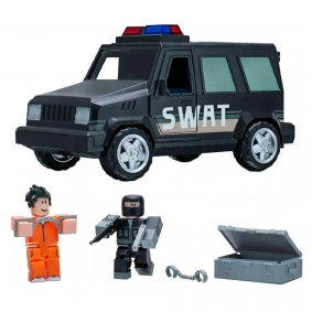 Bonecos Roblox: Action Collection - Jailbreak: Swat Unit (8 Peças) | Jazwares/Sunny