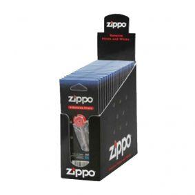 Box com 24 Cartelas de Pedra Genuína Zippo 6 un.