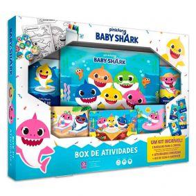 Box de Atividades pinkfong Baby Shark - COPAG