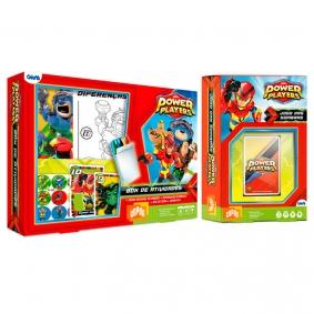 Box de Atividades - Power Players + Jogo das Sombras - Power Players | COPAG