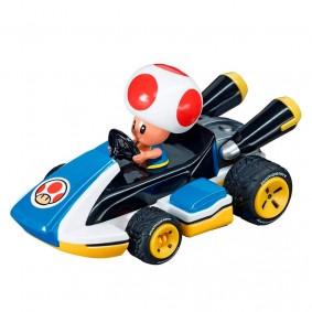 Carro Fricção Pull & Speed Mario Kart: Toad - Standard Kart | Carrera