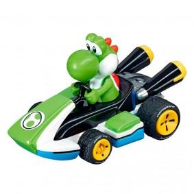 Carro Fricção Pull & Speed Mario Kart: Yoshi - Standard Kart | Carrera