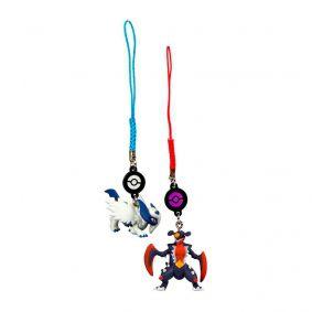 Chaveiros Pokémon - Mega Garchomp + Mega Absol | TOMY/Sunny