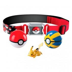 Cinto Pokémon Clip N' Carry com Pokébola + Bola Rápida + Pikachu | TOMY/Sunny