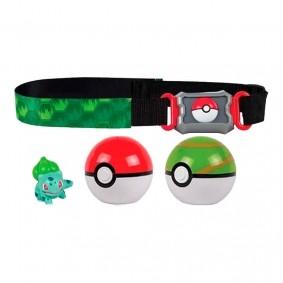 Cinto Pokémon Clip N' Carry com Pokébola + Bulbasaur | TOMY/Sunny