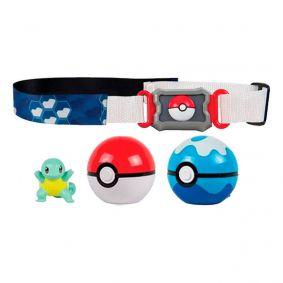 Cinto Pokémon Clip N' Carry com Pokébola + Squirtle | TOMY/Sunny