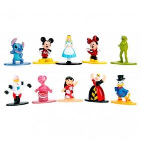 "Combo Bonecos Nano MetalFigs 1,65"" - 5-Pack Disney | Jada/Disney/Pixar"
