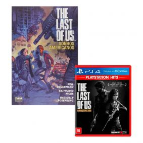Combo Jogo The Last of Us: Remasterizado + HQ The Last of Us: Sonhos Americanos