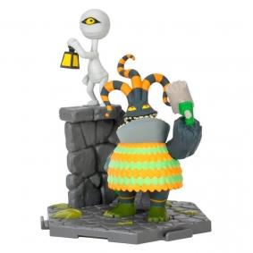 Figura de Ação Harlequin Demon & Mummy Boy #017 The Nightmare Before Christmas | Zoteki