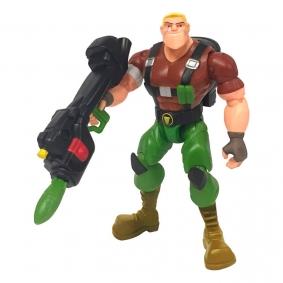 Figura de Ação: Power Players - Sargento Comando | Playmates/Sunny