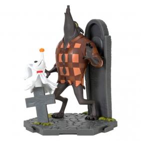 Figura de Ação Zero & Wolfman #022 The Nightmare Before Christmas | Zoteki