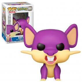 Figura Funko POP! Games Rattata - Pokémon #595