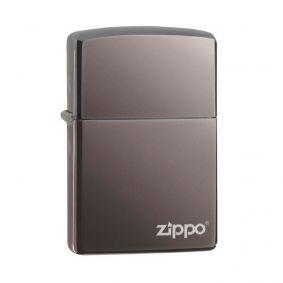 Isqueiro Zippo 150ZL Classic Zippo Logo Black Ice®