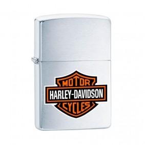 Isqueiro Zippo 200HD.H252 Classic Cromado Harley-Davidson® Escovado