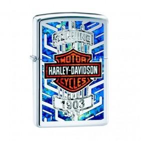 Isqueiro Zippo 29159 Classic Cromado Harley-Davidson® Polido