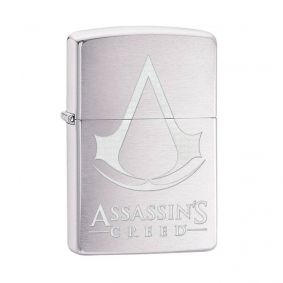Isqueiro Zippo 29494 Classic Cromado Assassin's Creed® Escovado