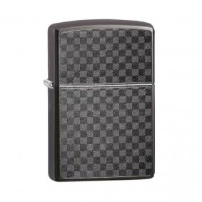 Isqueiro Zippo 29823 Classic Iced Carbon Fiber Design Gray Dusk
