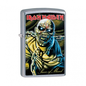 Isqueiro Zippo 29876 Classic Iron Maiden Piece of Mind Street