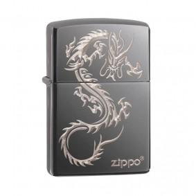 Isqueiro Zippo 49030 Classic Chinese Dragon Black Ice®