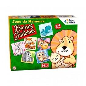 Jogo da Memória - Bichos e Filhotes | Pais & Filhos