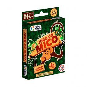 Jogo de Cartas 2 em 1 Jogo do Mico + Jogo da Memória | Pais & Filhos