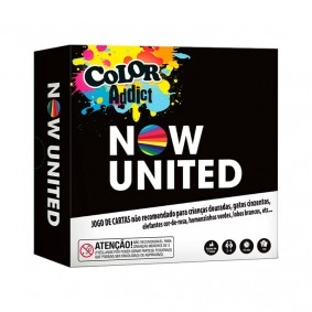 Jogo de Cartas Color Addict Now United COPAG