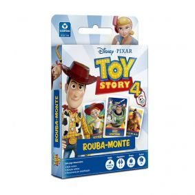 Jogo de Cartas Rouba-Monte Toy Story 4 - COPAG