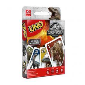 Jogo de Cartas UNO Jurassic World - COPAG