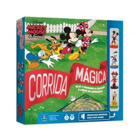 Jogo de Tabuleiro Corrida Mágica Disney Mickey & Friends - COPAG