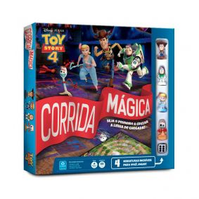 Jogo de Tabuleiro Corrida Mágica Disney Toy Story 4 - COPAG