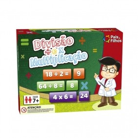 Jogo Divisão e Multiplicação | Pais & Filhos