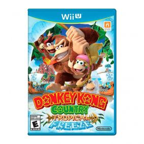 Jogo Donkey Kong Country: Tropical Freeze - Nintendo Wii U