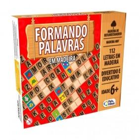 Jogo Formando Palavras em Madeira | Pais & Filhos