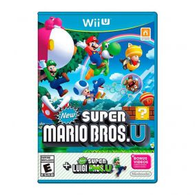 Jogo New Super Mario Bros. U + New Super Luigi U - Nintendo Wii U