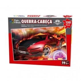 Jogo Quebra-Cabeça: Race Team - 150 Peças | Pais & Filhos