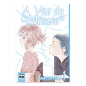 Mangá A Voz do Silêncio (Edição Definitiva) - Volume 01 + Marcador de Páginas