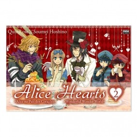 Mangá Alice Hearts - Volume 02
