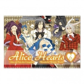Mangá Alice Hearts - Volume 06