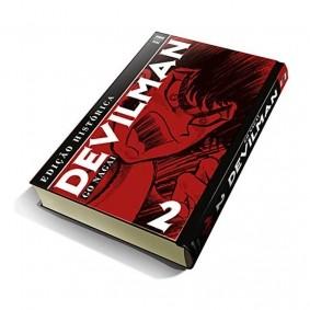 Mangá Devilman: Edição Histórica - Volume 02