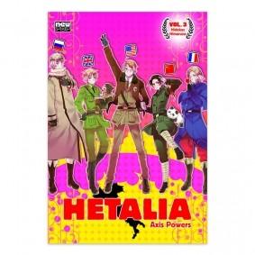 Mangá Hetalia: Axis Power - Volume 03