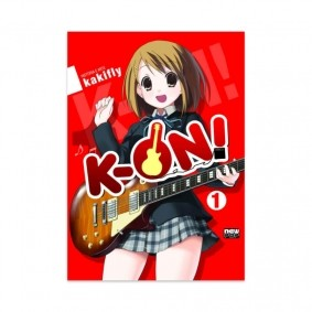 Mangá K-ON! - Volume 01