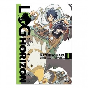 Mangá Log Horizon - Volume 01