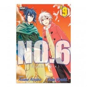Mangá NO.6 - Volume 09