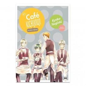 Mangá No Café Kichijouji - Volume 04 (Segundo Preparo)