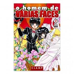 Mangá O Homem de Várias Faces - Volume 02